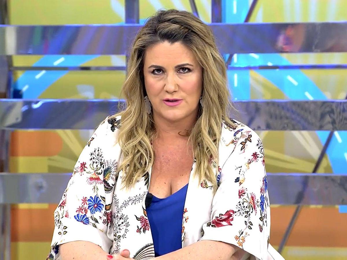 Foto: Carlota Corredera, presentadora de 'Sálvame'. (Mediaset)