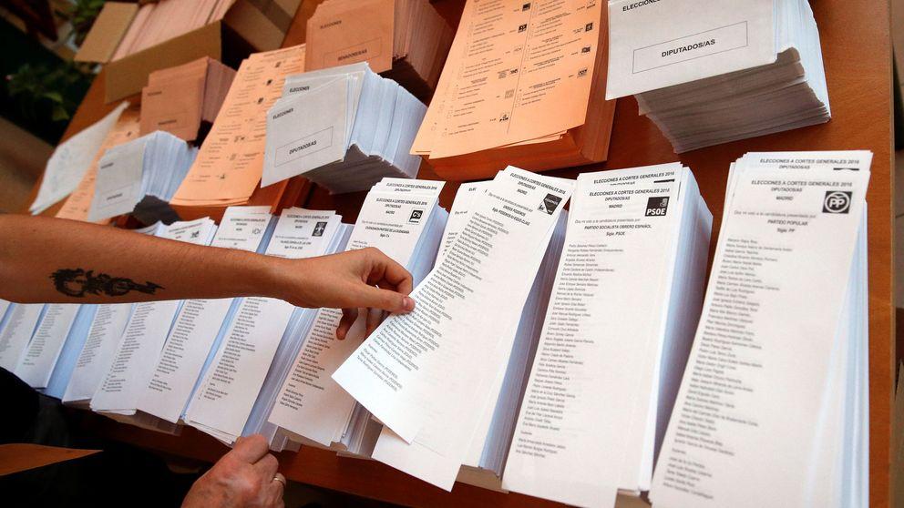 Los partidos tropiezan con el voto por correo para acortar la campaña