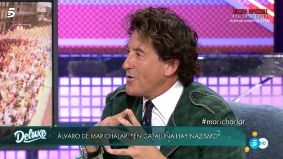 Jorge Javier Vázquez expulsa a Álvaro de Marichalar del 'Deluxe': A tomar por saco