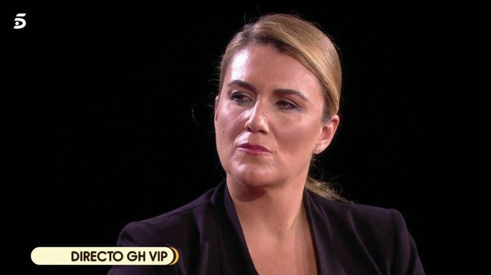 Foto: Carlota Corredera, en 'GH VIP 7'. (Mediaset)