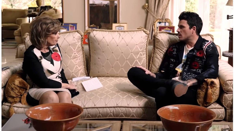 María Teresa Campos y Dani Martín. (YouTube)