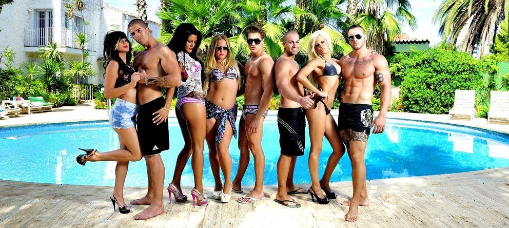 Foto: Imagen promocional facilitada por el canal MTV de los participantes de 'Gandía Shore'