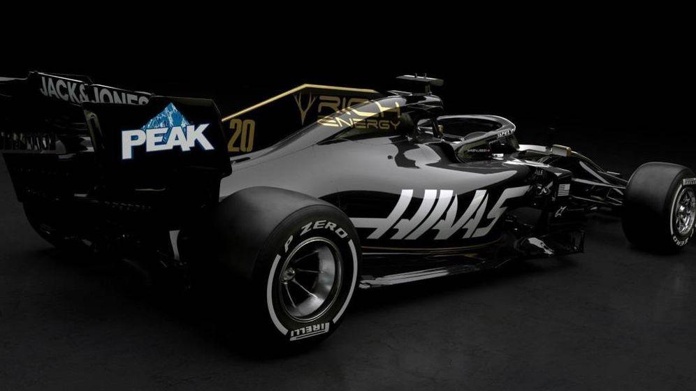 Foto: El primer coche de Fórmula 1 de 2019: el nuevo y flamante Haas