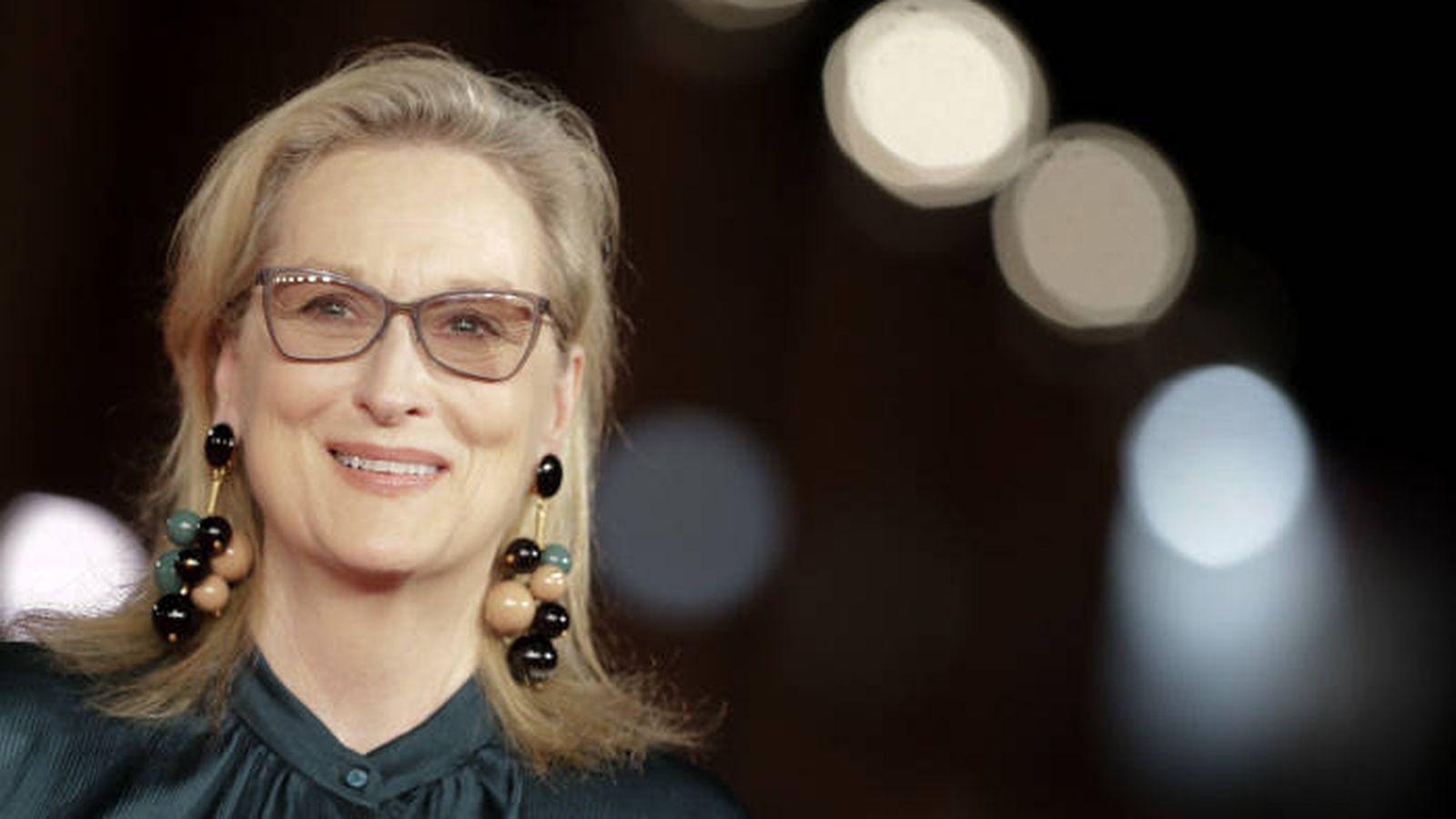 Foto: Meryl Streep, fichaje de la segunda temporada de 'Big Little Lies'. (Gtres)