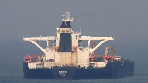 El petrolero Grace I es liberado del Estrecho de Gibraltar
