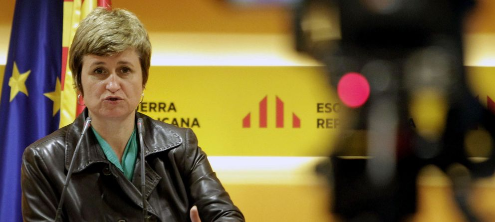 Foto: La portavoz de ERC, Anna Simó (EFE)