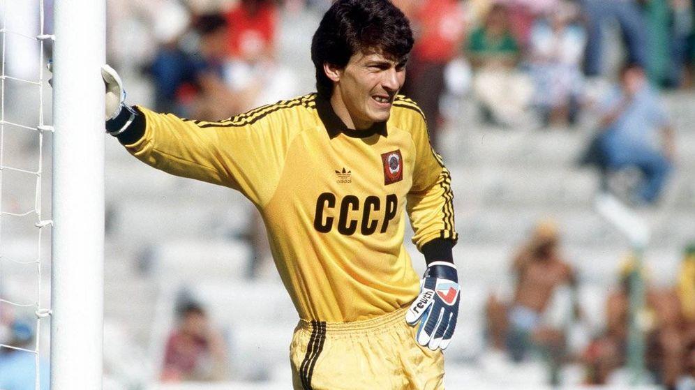 Foto: Rinat Dasaev jugó tres temporadas en el Sevilla. (Reuters)
