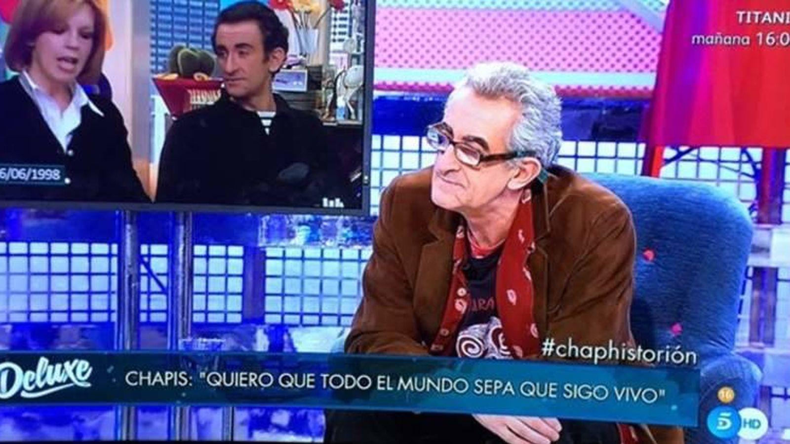 Foto: Chapis reaparece en 'Sábado Deluxe'.