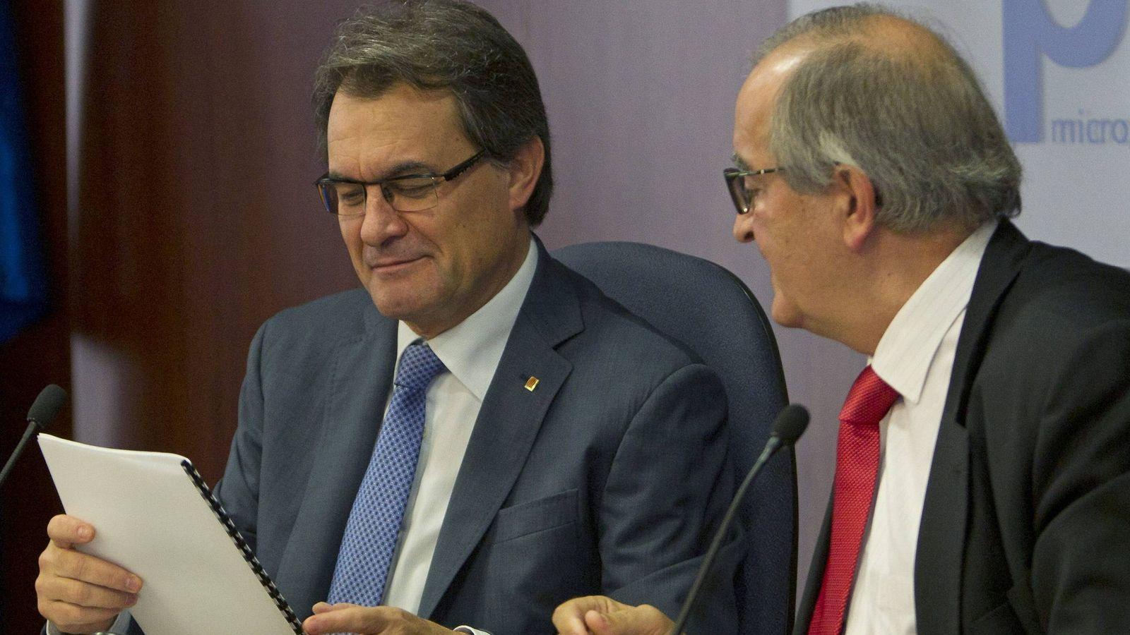 Foto: El presidente de la Generalitat y número 4 de la lista de Junts pel Si, Artur Mas. (EFE)