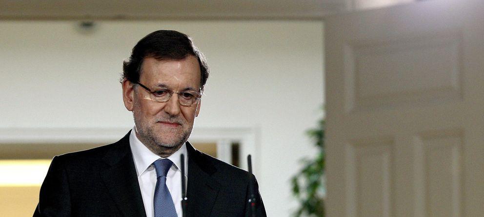 Foto: Mariano Rajoy hace balance político y económico de 2013. (EFE)