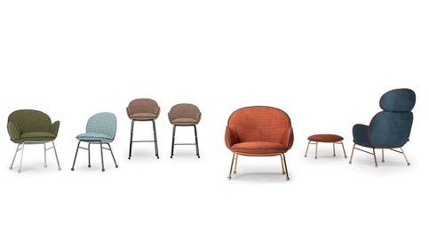 La colección 'Round' de sillas y taburetes de Lagranja