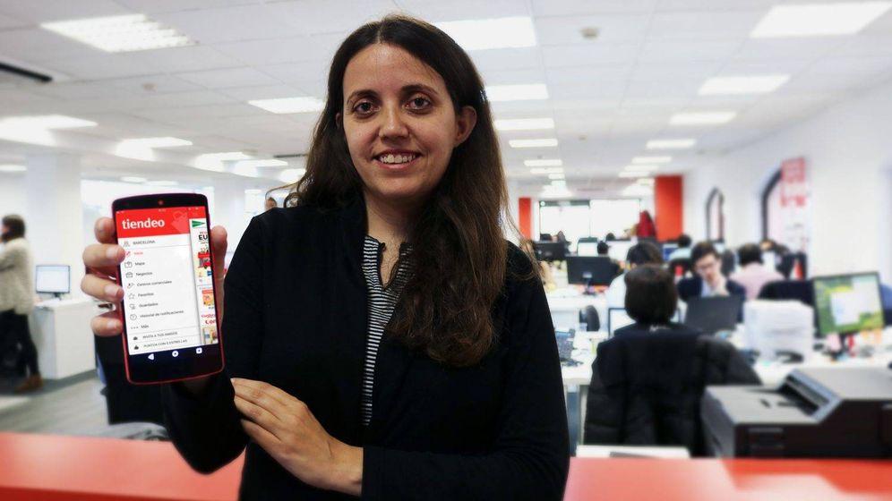 Foto: Eva Martín es la CEO y cofundadora de Tiendeo.