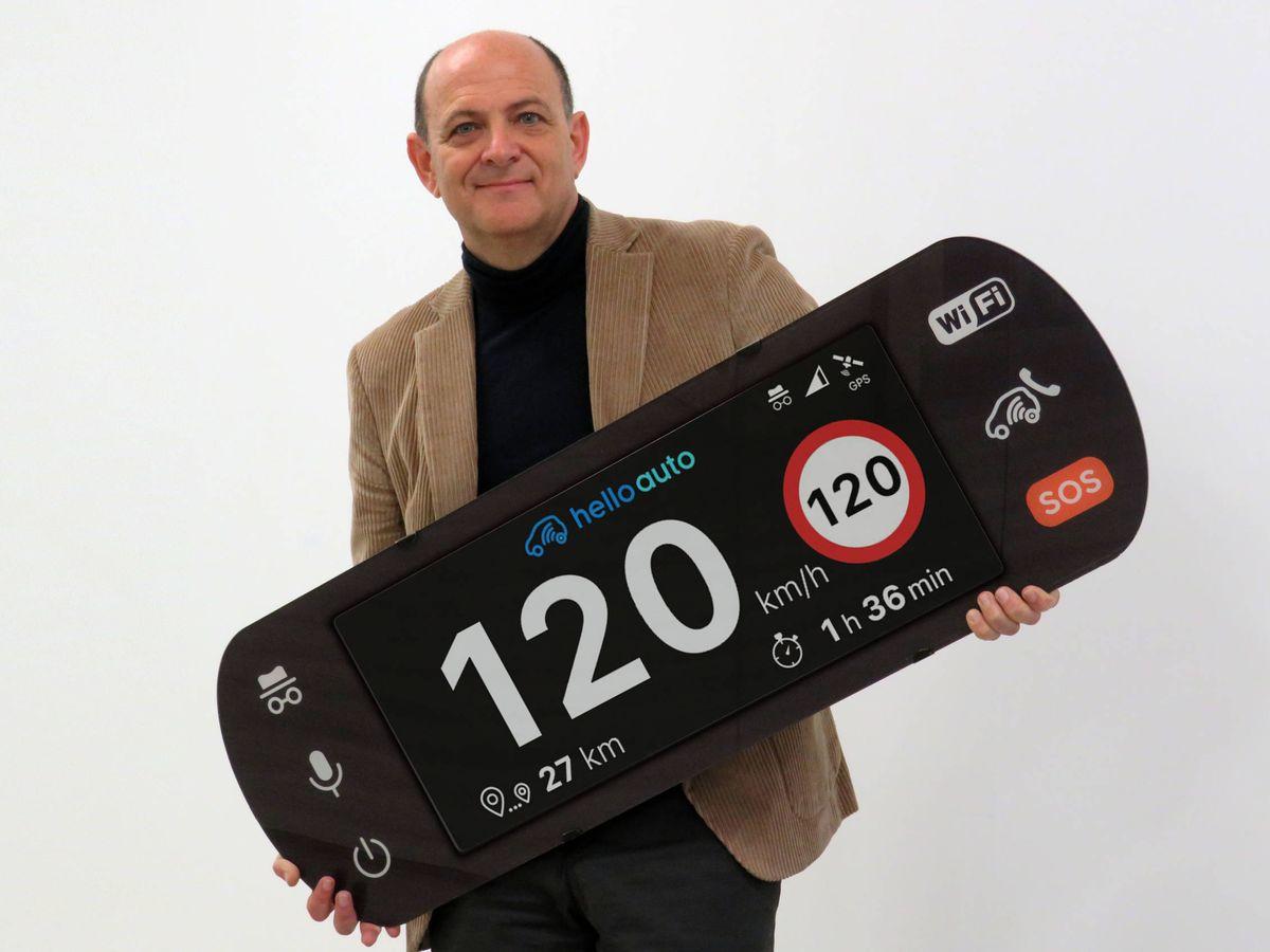 Foto: Manuel Santiago, fundador de Petroprix y Hello Auto