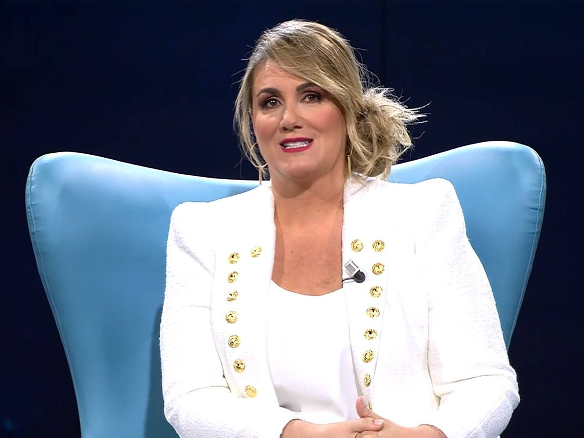 Foto: La presentadora Carlota Corredera. (Mediaset)