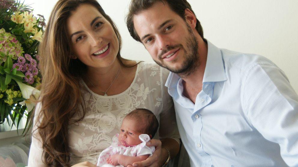 Félix y Claire de Luxemburgo presentan a su hija Amalia