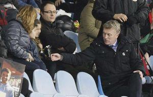 David Moyes, del lujoso María Cristina al incómodo Bernabéu