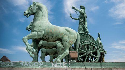 El abandono del Arco de la Victoria de Madrid