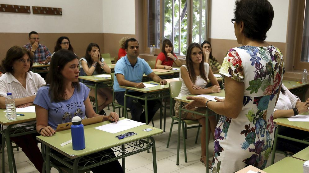 Foto: Los profesores jubilados señalan que cada vez hay menos docentes vocacionales. (EFE)