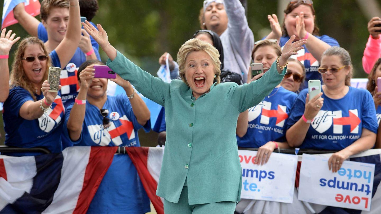 Hillary Clinton en Florida. (Cordon Press)