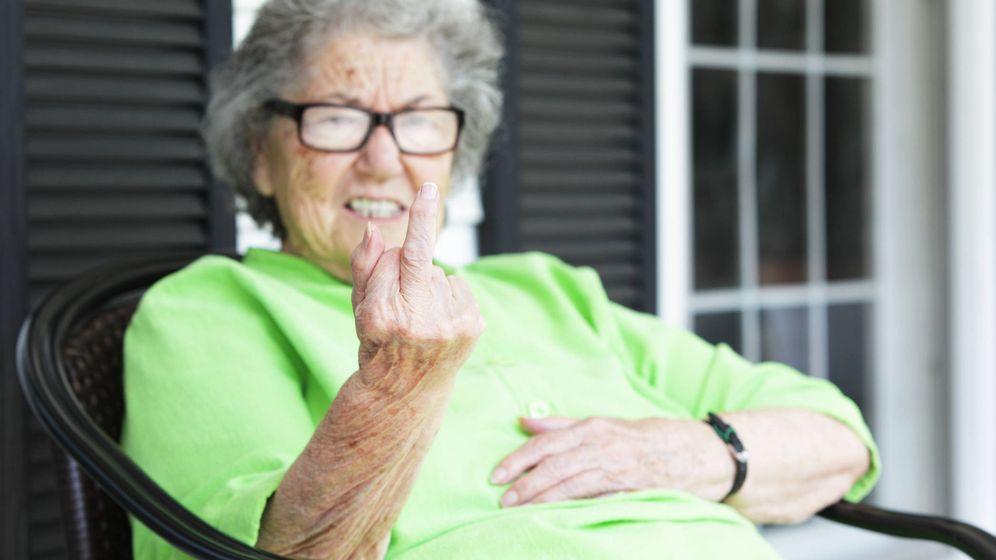 Foto: Una abuela cabreada. (iStock)