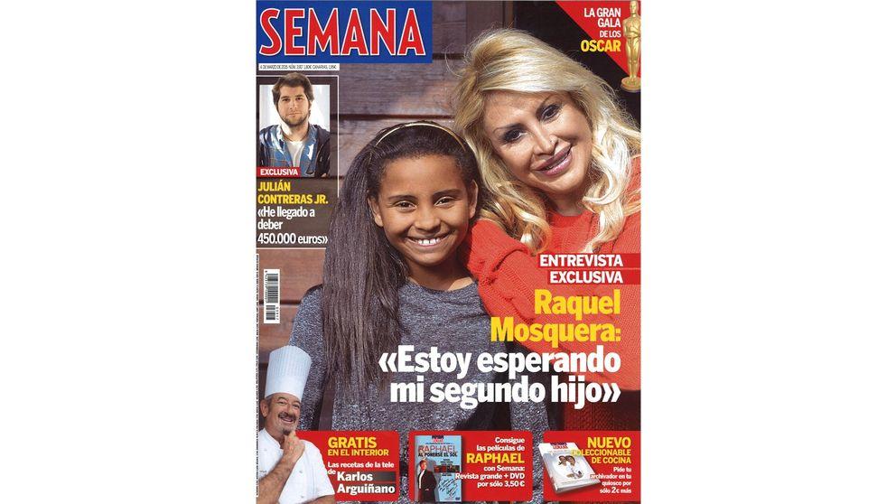 Las portadas del miércoles: Raquel Mosquera embarazada y la resaca de los Oscar
