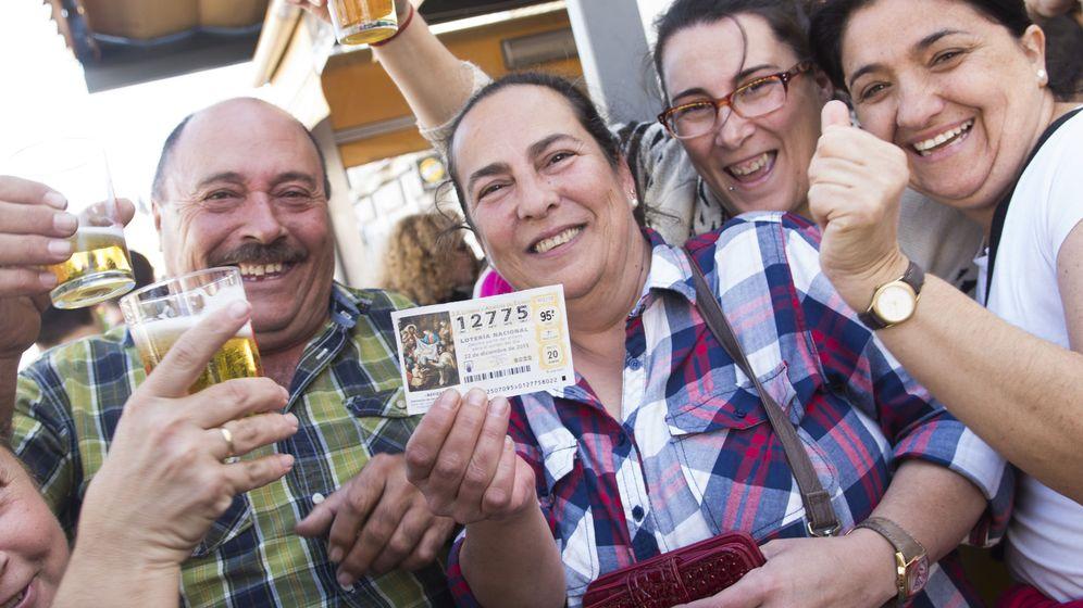Foto: Segundo premio de la lotería de Navidad en 2015. (EFE)