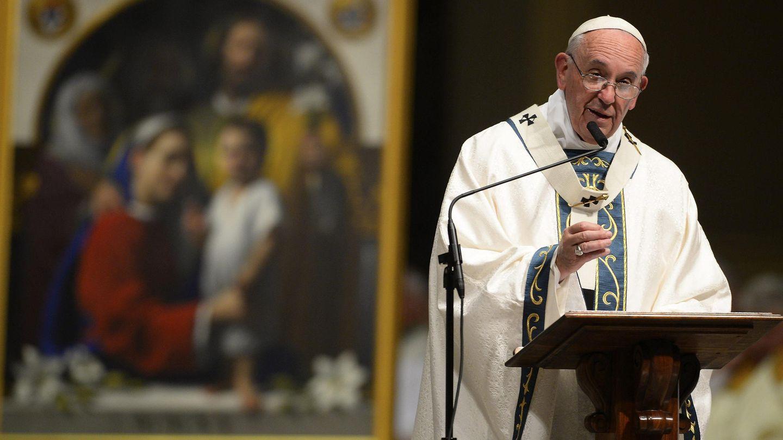 El Papa, en una visita a Estados Unidos. (EFE)
