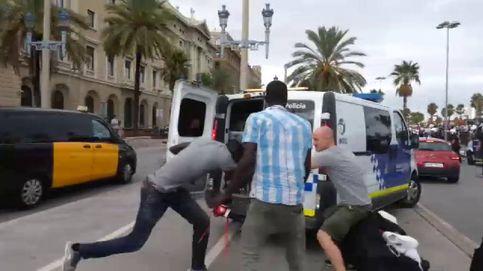 Nueva pelea durante una redada entre Guardia Urbana y manteros en Barcelona