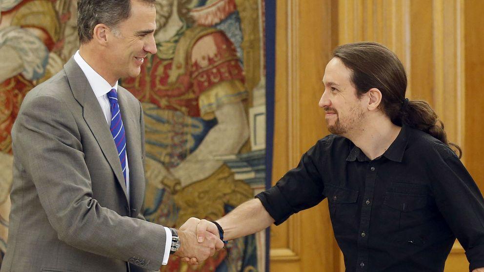 El Iglesias más rupturista se distancia de los errejonistas: planta al Rey por política