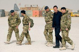 Foto: Cameron fija en 2011 el inicio de la retirada de las tropas británicas de Afganistán
