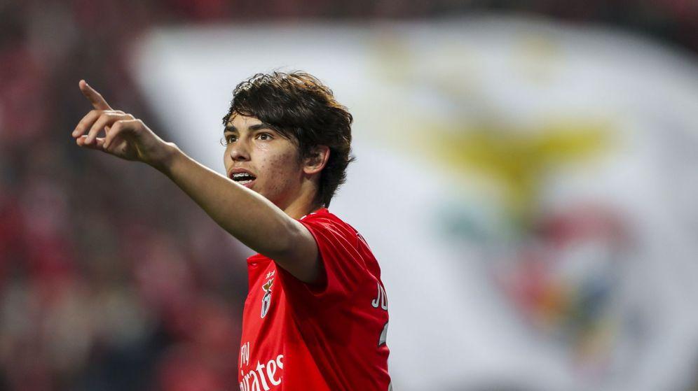 Foto: Joao Félix, en un partido de esta temporada con el Benfica. (EFE)