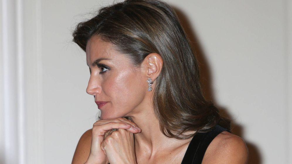 Foto: La reina Letizia en los Premios de Periodismo Francisco Cerecedo en el hotel Ritz. (Gtres)