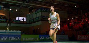 Post de Carolina Marín vence a Mitani, pero no podrá jugar la final por unas molestias