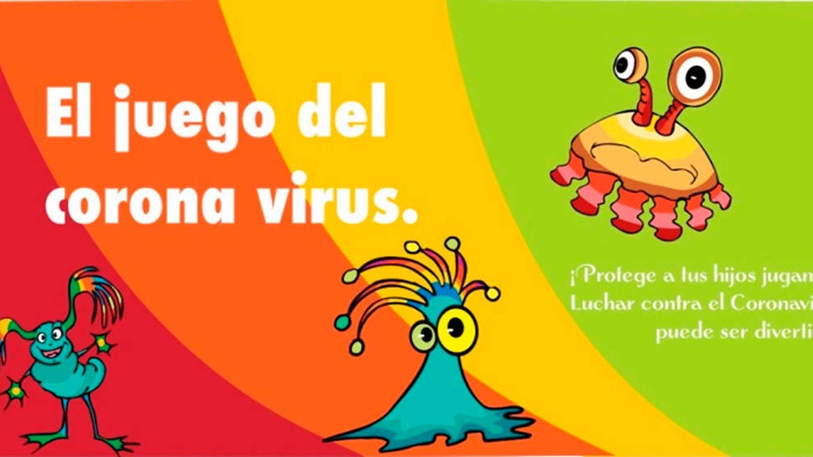 El Juego Sobre El Coronavirus El Truco Para Que Los Ninos Se