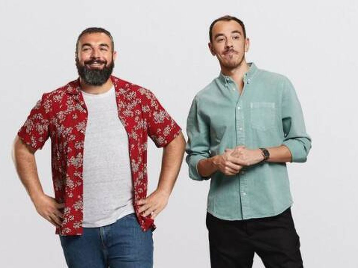 Foto: Rober Bodegas y Alberto Casado son Pantomima Full. (Europa FM)