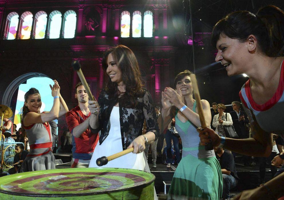 Foto: Cristina Kirchner en una de sus últimas apariciones públicas, el 10 de diciembre (Reuters)