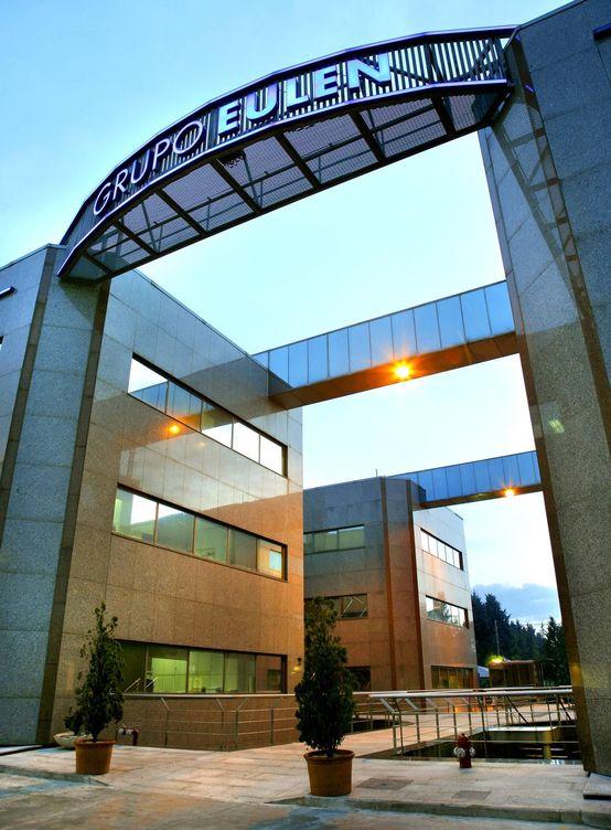 Foto: Foto de la entrada a la nueva sede de Eulen.