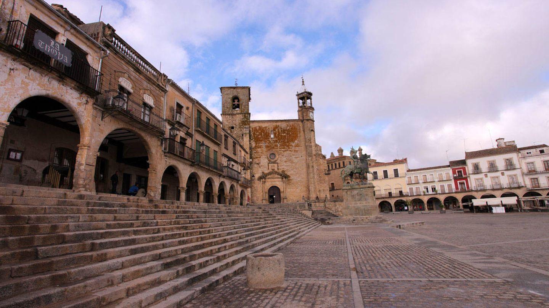 Así es la Plaza Mayor de Trujillo. (Foto: Turismo de Extremadura)
