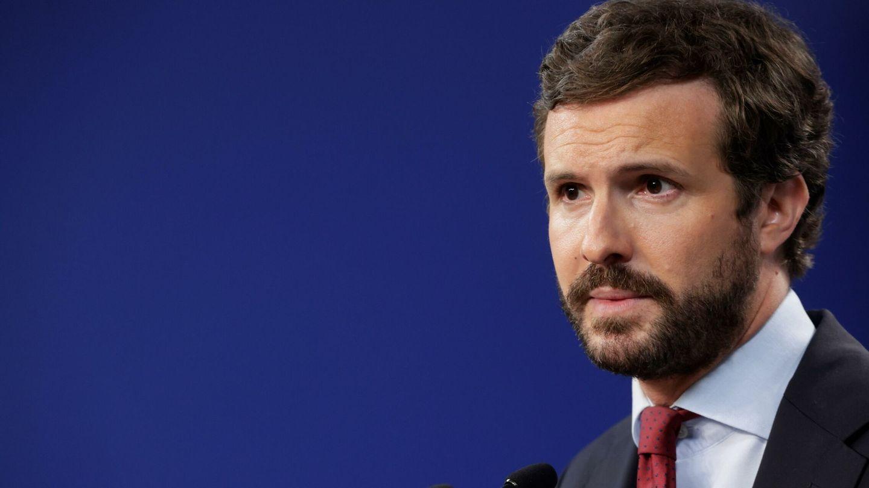 El presidente del Partido Popular, Pablo Casado. (EFE)