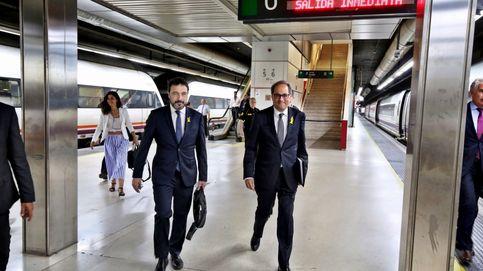 Torra llega a Madrid: Explicaré a Sánchez la gravísima situación de Cataluña