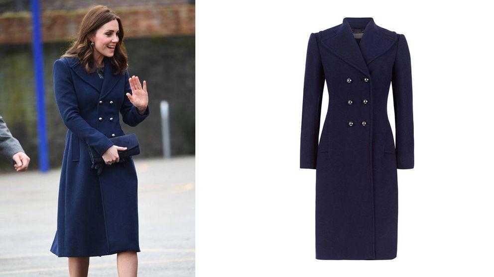 ¡Kate Middleton no pasa frío! Los 15 abrigos por los que le tenemos envidia