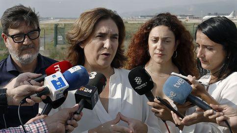 Colau pide a los Mossos que no queden impunes las agresiones a independentistas