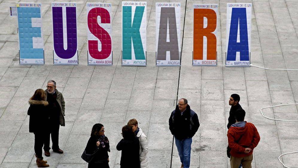 Foto: Día Internacional del Euskera. (EFE)
