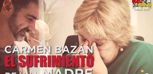 Post de Carmen Bazán, preocupada por la delicada situación de Jesulín y Campanario