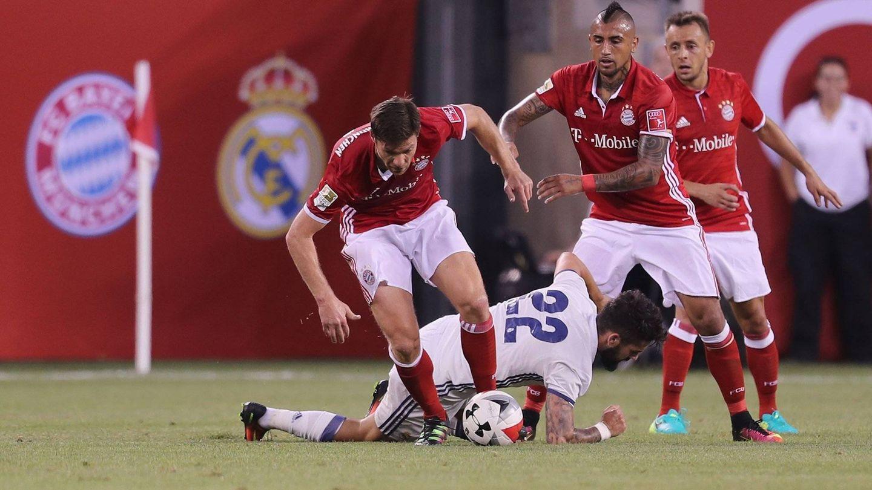 La hora que jugó Xabi fue sensacional (@FCBayern).
