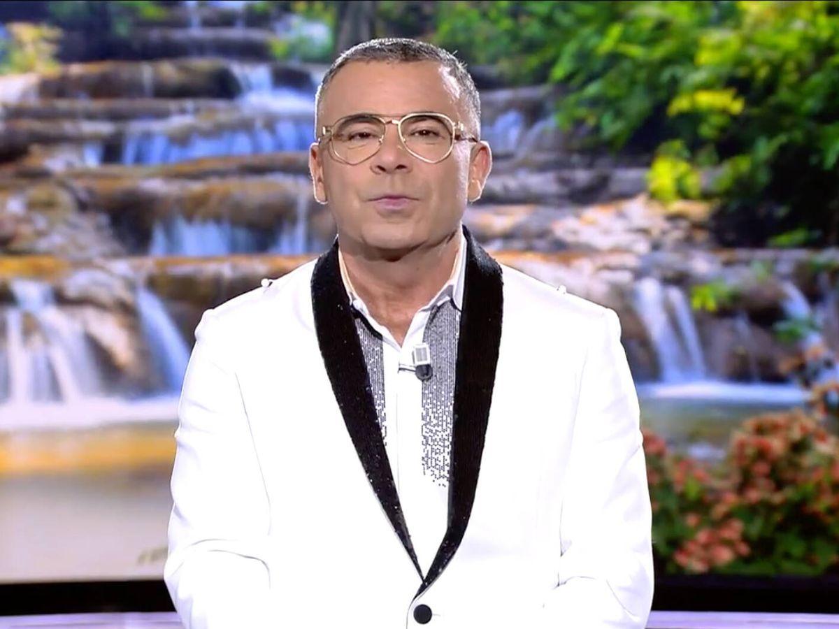 Foto: Jorge Javier Vázquez en 'Supervivientes'. (Telecinco)