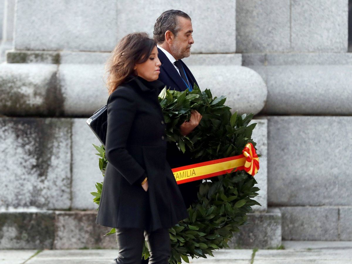 Foto: Jaime Martínez-Bordiú y Marta Fernández. (EFE)