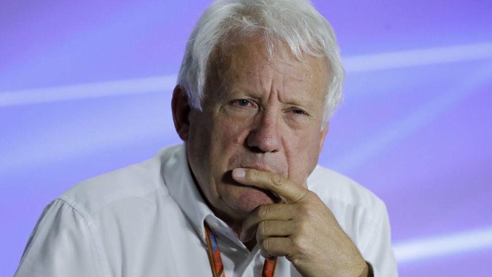 Foto: El director de carrera de la Formula 1, Charlie Whiting, durante una rueda de prensa. (EFE)