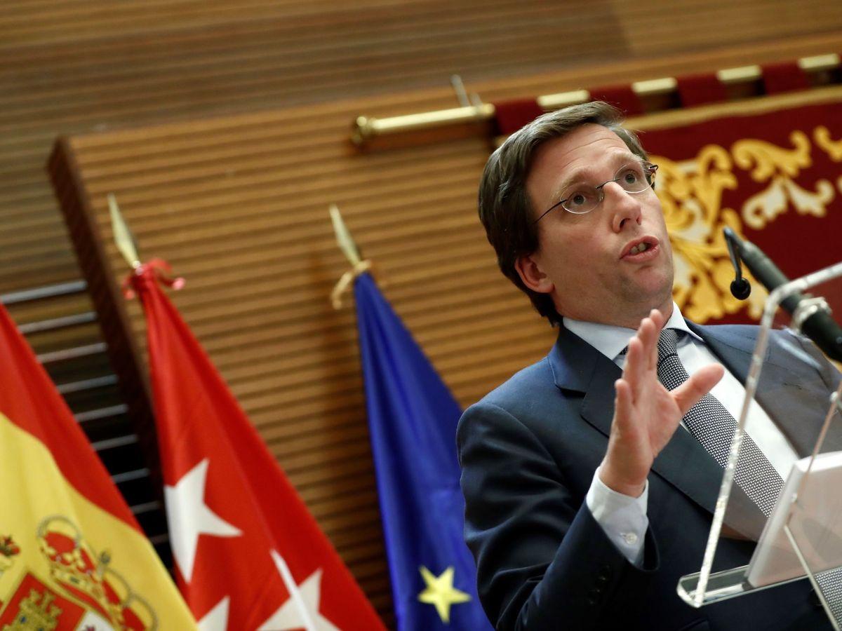 Foto: El alcalde de Madrid, José Luis Martínez-Almeida. (EFE)