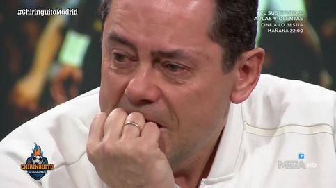 'El Chiringuito' | Tomás Roncero llora, sin consuelo, tras la derrota del Real Madrid